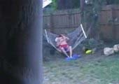 Sister fucking her boyfriend in the garden